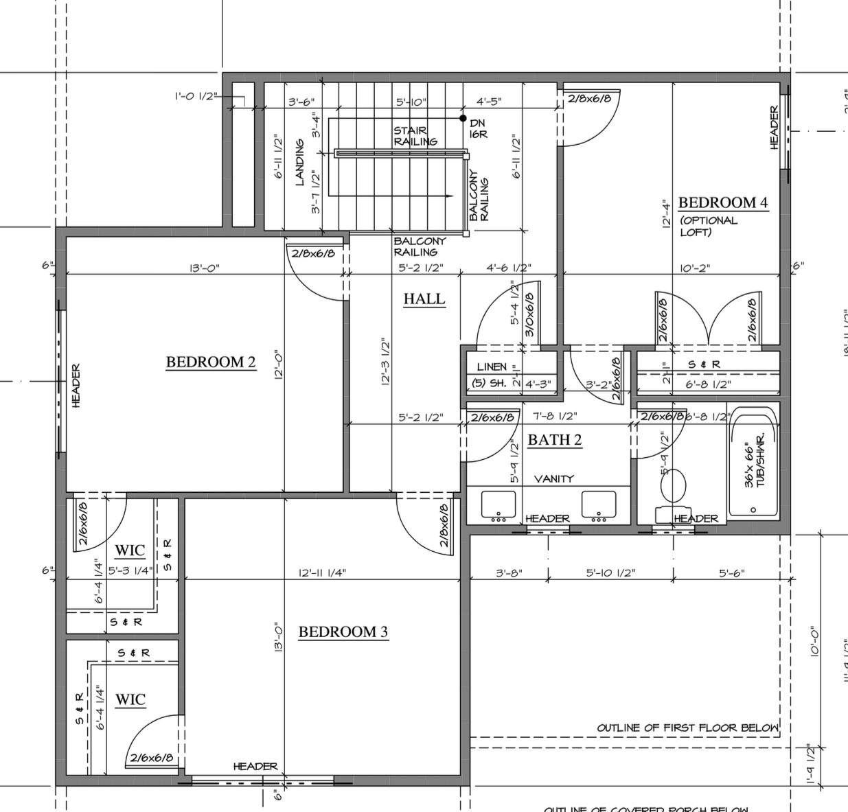 Model 1-2nd Floor